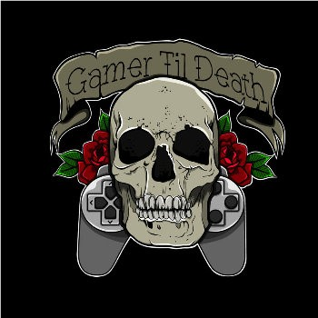 gamer_til_death_by_zombie_pin_up-d7k1x6x