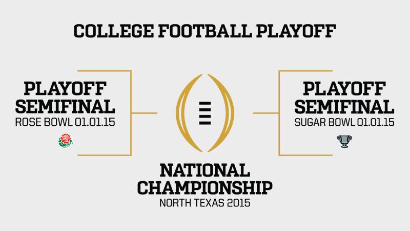Binge Sports College Football Playoff Poll Results Bingemedia Net