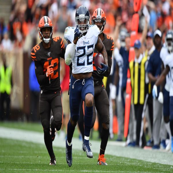 Titans over Browns
